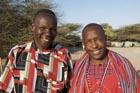 Ole Kishau and Ali Lobuin at Maikona Gathering