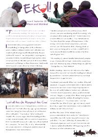 Ekoi bulletin cover